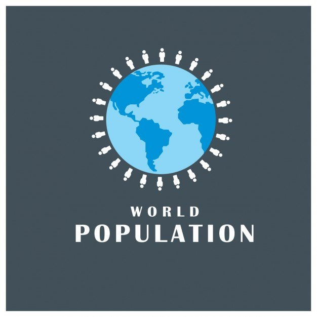 The current world population is 7.8 billion as of March 2020