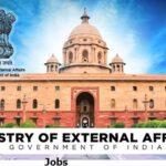 Ministry of External Affairs Jobs Recruitment 2020